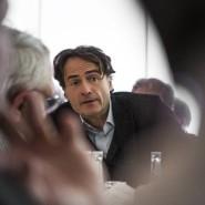 """Rede und Gegenrede: Giovanni di Lorenzo ist Chefredakteur der """"Zeit"""" und Moderator der Radio-Bremen-Talkshow """"3 nach 9""""."""