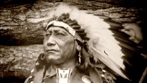 Ein Sioux in Dresden