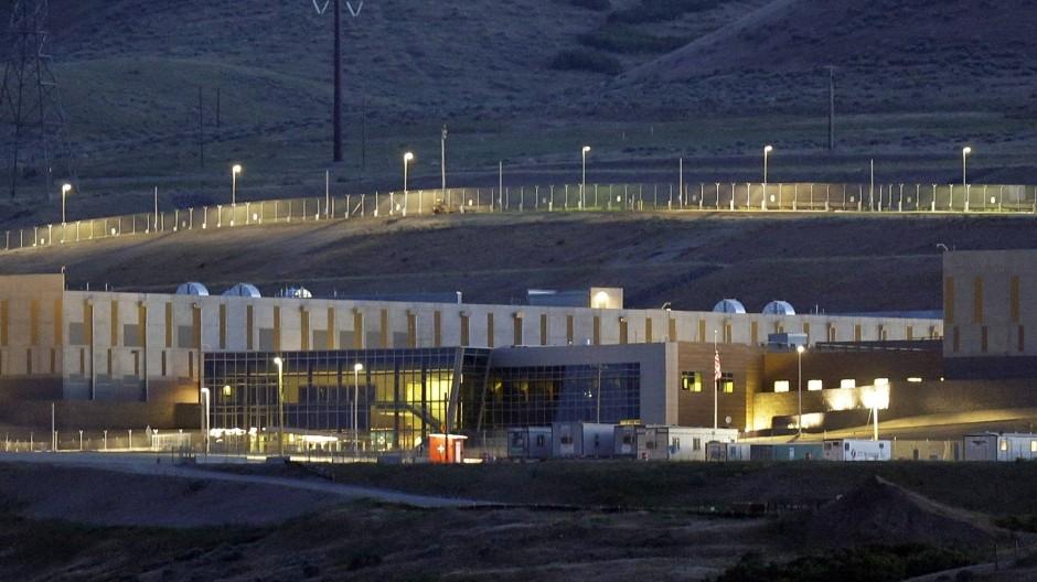 """Das """"Data-Center"""" der NSA, in der Ortschaft Bluffdale, Utah."""