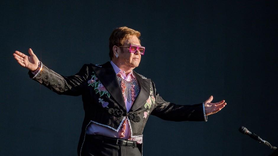 Auch Elton John-Werke sind Teil des riesigen Repertoires von Universal Music.