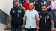 Bülent Mumay bei seiner Verhaftung am 29. Juli