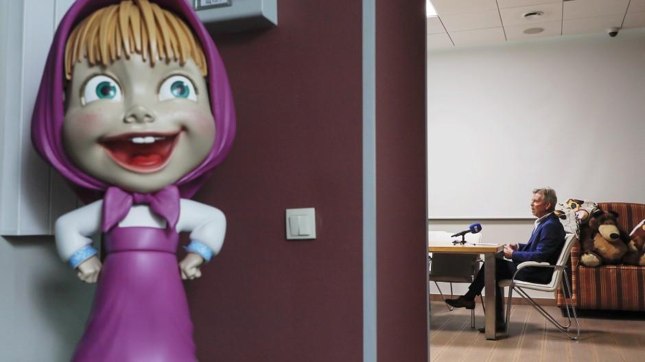 """Die Animationsserie """"Mascha und der Bär"""" ist einer der größten russischen Exportschlager."""