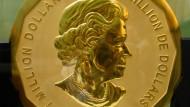 Diebe stehlen hundert Kilogramm schwere Goldmünze