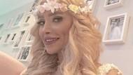 Am Pranger: Das iranische Model Elham Arab. Dagegen erscheint der schrille Tadel Heidi Klums geradezu harmonisch.