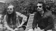 Walter Becker (links) mit Donald Fagen von Steely Dan