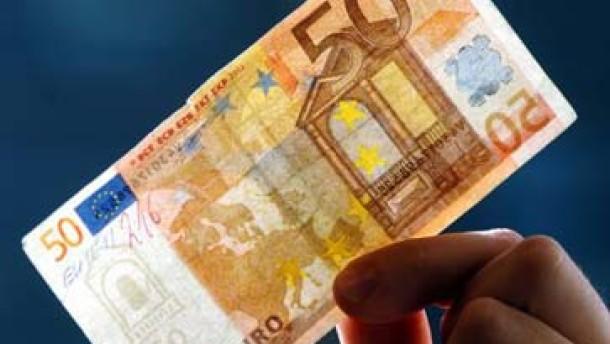 Der Euro wird erheblich öfter gefälscht als die D-Mark