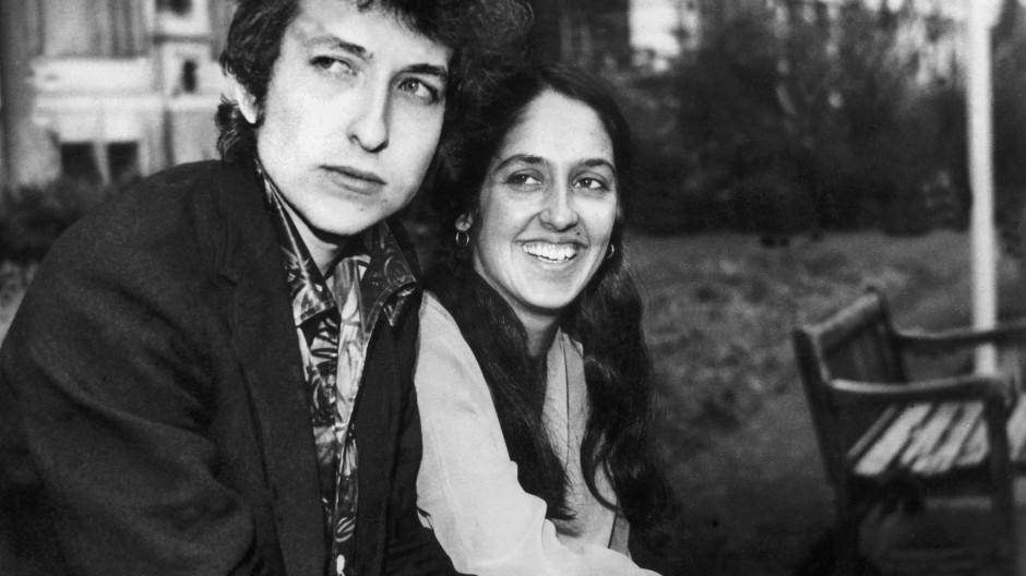 Bob Dylan und Joan Baez 1965: ein lebendiger Mythos? Für kurze Zeit ja.