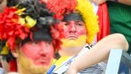 Deutsche Fans nach dem Spiel gegen Mexiko