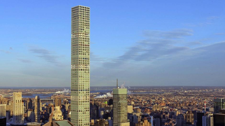 Das 432 Park Avenue Luxury Building lässt die Rockefellers dieser Welt wie Höhlenbewohner aussehen.