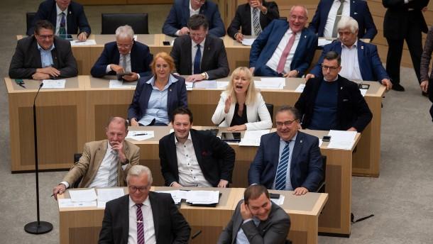 Isolation und Häme im Landtag