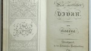 Islam ist nicht Fanatismus: Goethe und Sarrazin, der Koran und wir