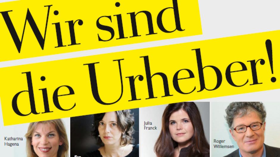 """Sie sind die Urheber: Erstunterzeichner des Appells in der Wochenzeitung """"Die Zeit"""""""