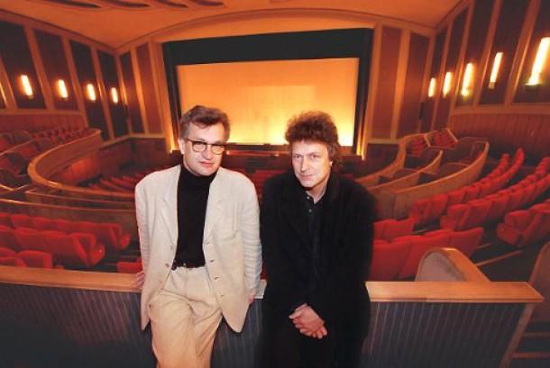 """Damals, 2000: Niedecken mit Wim Wenders in der Essener """"Lichtburg"""""""