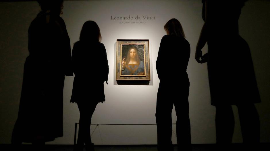 Leonardo da Vinci: Salvator Mundi zieht ins Louvre Abu Dhabi