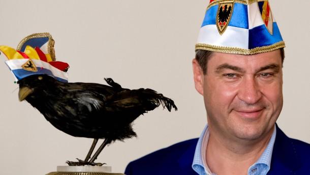 """Söder erhält Orden """"Wider den tierischen Ernst"""""""