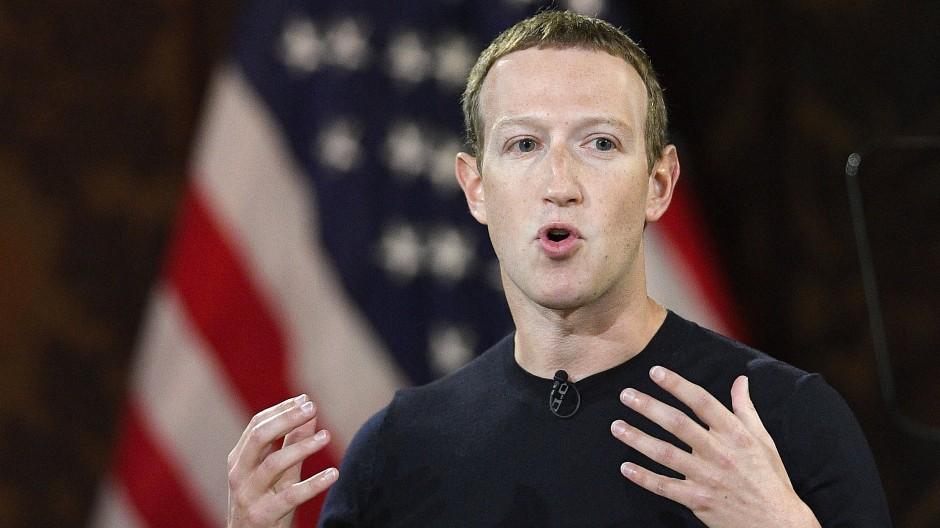 Politischer Missbrauch seiner Plattform interessiert ihn nicht überall auf der Welt: Mark Zuckerberg im Oktober 2019 in Washington