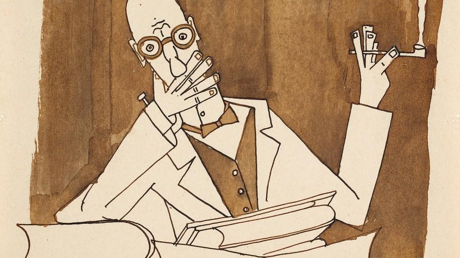 Faust, von Friedrich Dürrenmatt gezeichnet
