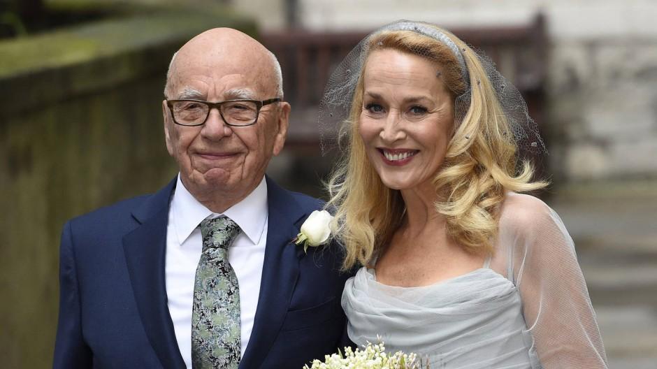 Rupert Murdoch hat zum vierten Mal geheiratet