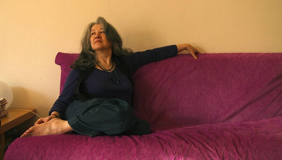 """Die Pianistin Martha Argerich im Dokumentarfilm """"Bloody Daughter"""" für Arte."""