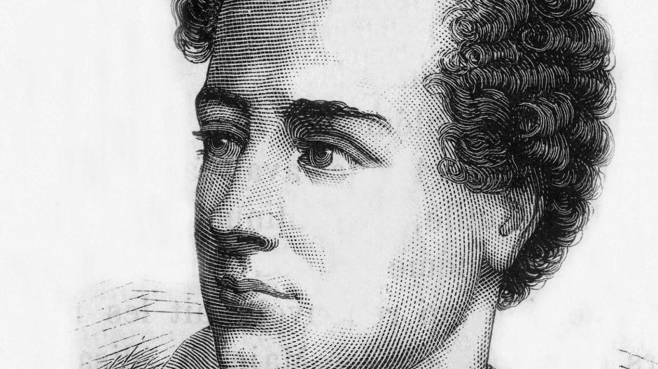 Romantischer Revolutionär: Lord Byron auf einer Zeichnung von Henri Martin Tome