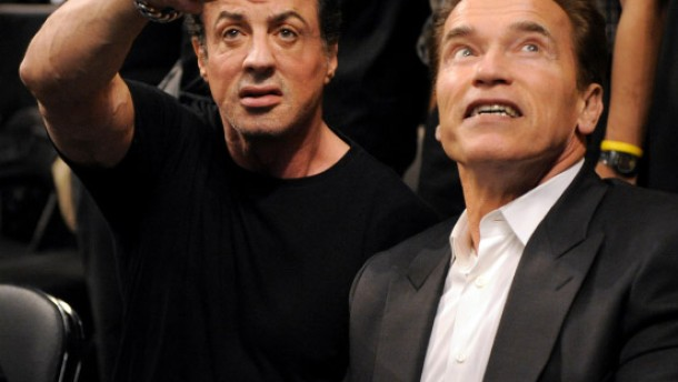 Schwarzeneggers Kino-Comeback für Stallone