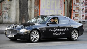 Maserati Biturbo mit Hartz-IV-Zylinder