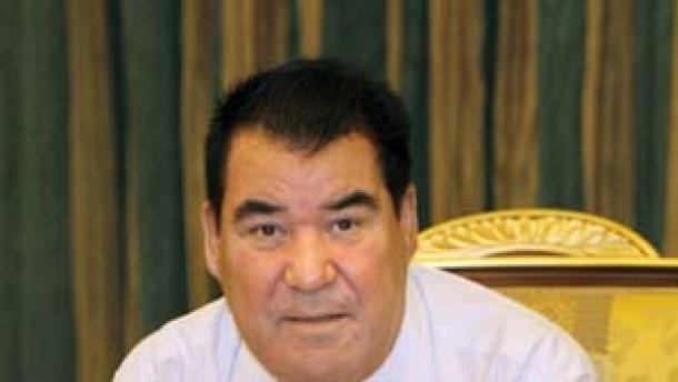 Turkmenischer Präsident Nijasow tot