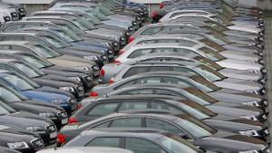 Die Zweitgeräte des Autohändlers