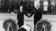 22. September 1984: Kohl und Mitterrand in Verdun