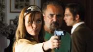 Regisseur Uli Edel mit Nadja Uhl als Brigitte Mohnhaupt, die an Pontos Ermordung beteiligt war