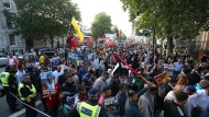 "Organisiert von der ?Islamic Human Rights Commission"": Londoner Demonstration am  Al-Quds-Tag"