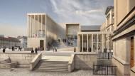 Museumswanderer, kommst du nach Walhall: So wird die James-Simon-Galerie am Ende aussehen