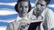 """Für die """"Zweitnutzung"""" von Texten sollen Autoren und Verlage vergütet werden. Dafür wurde die VG Wort 1958 als Verein von Autoren und Verlagen gemeinsam gegründet."""