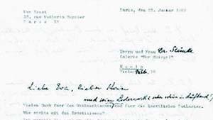 Max Beckmann fragt um Rat: Aus dem Zentralarchiv 28