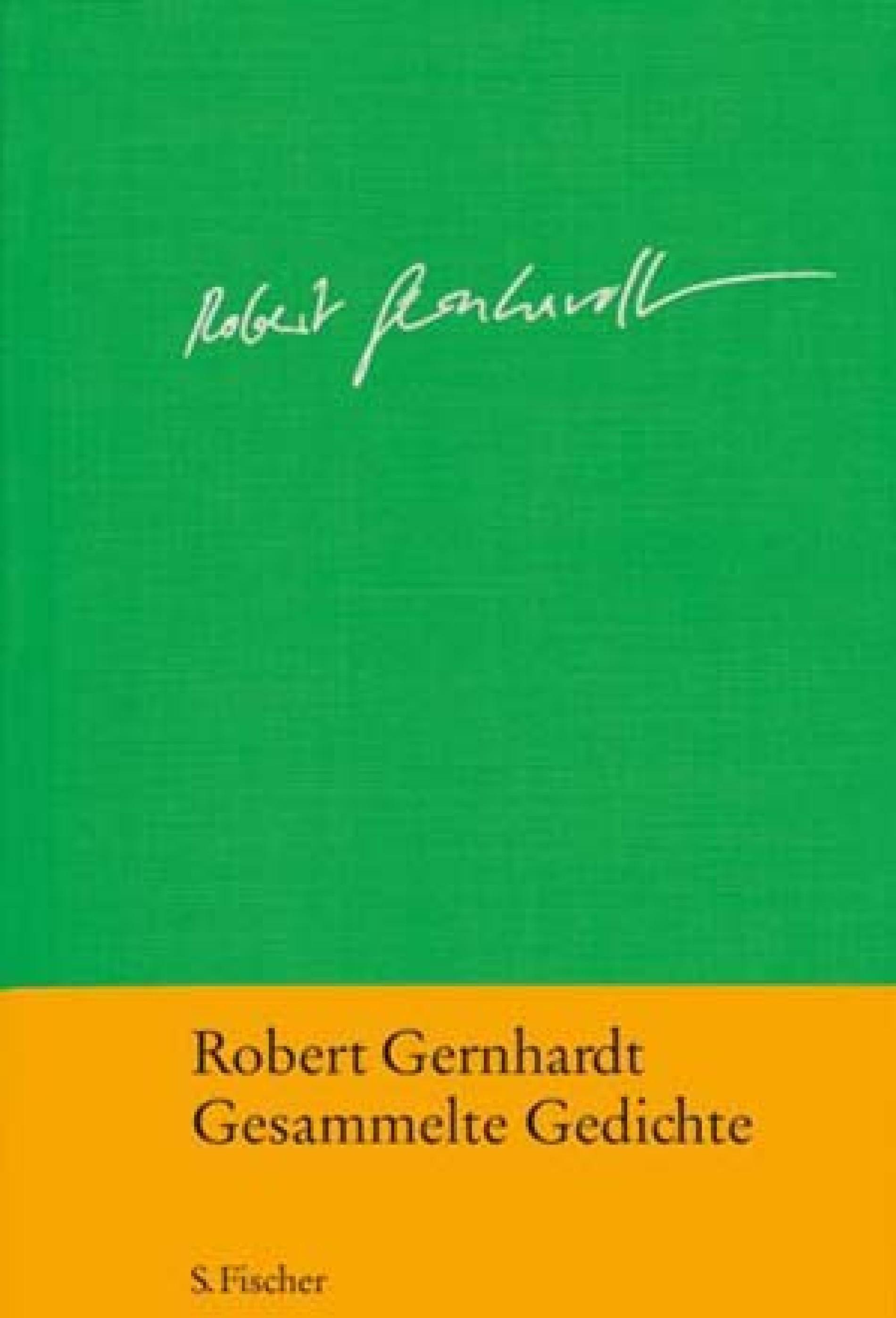 Robert Gernhardt Versarbeit Am Leben Belletristik Faz