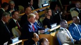 Wie Trump die UN seit Jahren missachtet