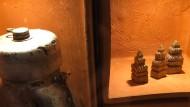 Reliquien aus blutgetränkter Erde