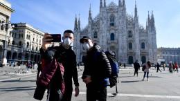Wie das Coronavirus Mailand lahmlegt