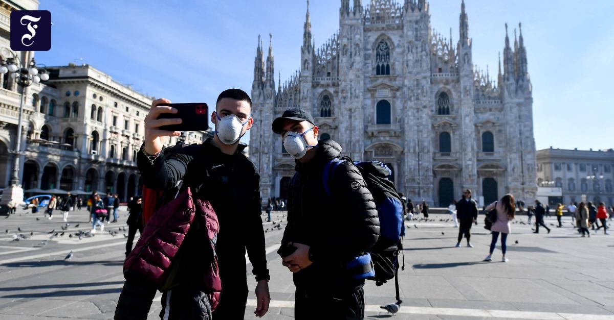 Seuchenschutz in Italien: Wie das Coronavirus Mailand lahmlegt