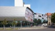 Frucht der Bibliothekseinheit: Der Erweiterungsbau der Deutschen Bücherei Leipzig von 2011