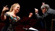 Fingerzeigespiele für einen großen verkannten Komponisten: Diana Damrau und Antonio Pappano