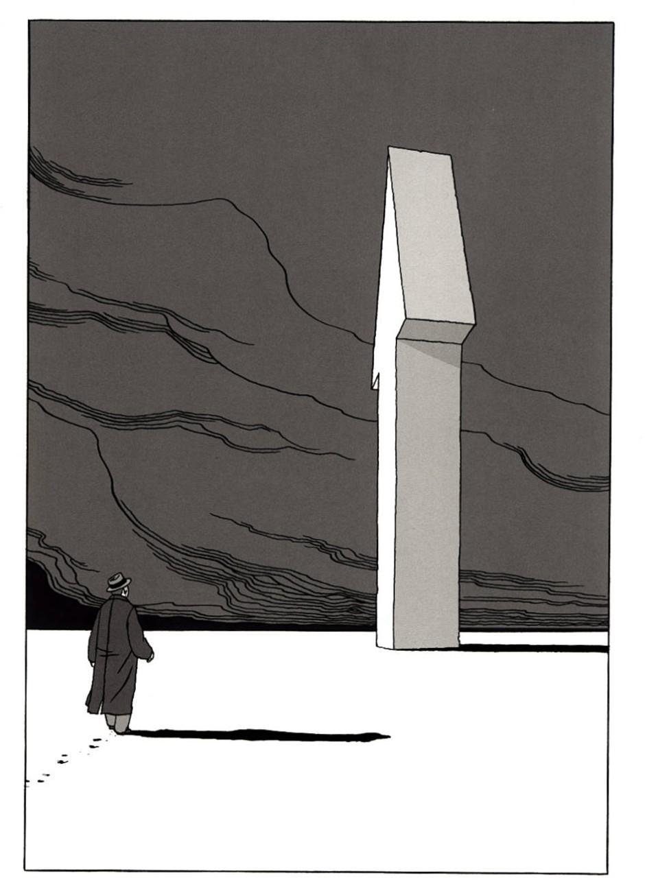 Richtungsweisend: eine Seite aus Marc-Antoine Mathieus wortlosem Comic.