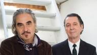 Der Popsänger Stephan Eicher und der Bestsellerautor Martin Suter