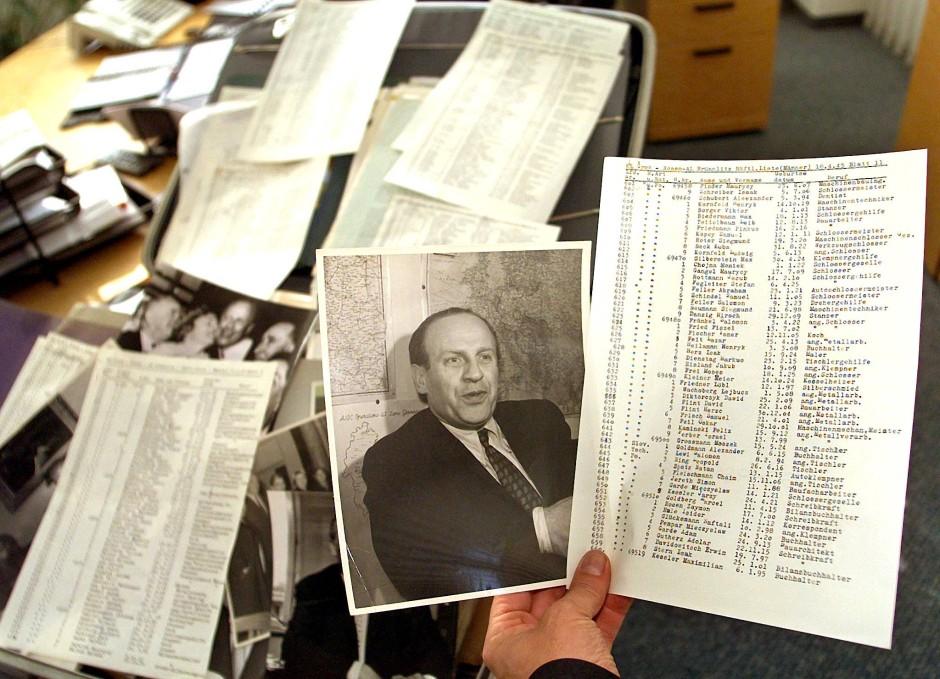 Oskar Schindlers Nachlass befindet sich in den Redaktionsräumen der Stuttgarter Zeitung – darunter auch eine Liste mit 1200 jüdischen Namen in einer Originalfassung und zahlreichen Durchschlägen.
