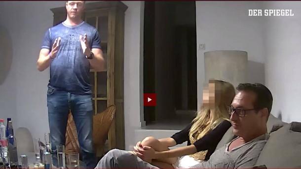 Darf das Ibiza-Video gezeigt werden?