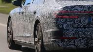 Mein Sohn, was birgst du so bang dein Gesicht? – Siehst Vater, du den Dieselskandal nicht? Auch dieser Audi-Erlkönig fährt einer unsicheren Zukunft entgegen.