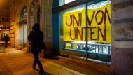Studentischer Protest an der Berliner Humboldt-Universität 2017