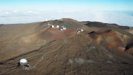 Der Mauna Kea hat sowohl für Astronomen als auch für Ureinwohner große Bedeutung. Das umstrittene Observatorium unten links wurde virtuell eingefügt.