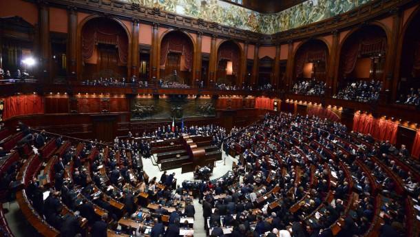 Abgeordnetenkammer in Rom
