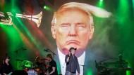 Steife Brise: Szene bei einem Konzert der Band Fury in the Slaughterhouse im Jahr 2017